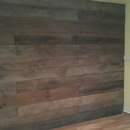 Reclaimed Antique Barn Wood Paneling