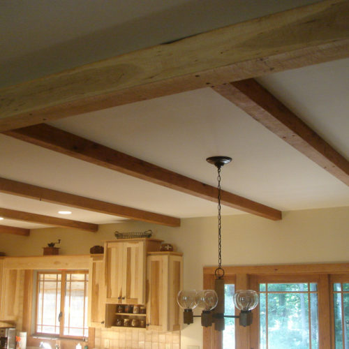 Re-purposed Cherry Beams
