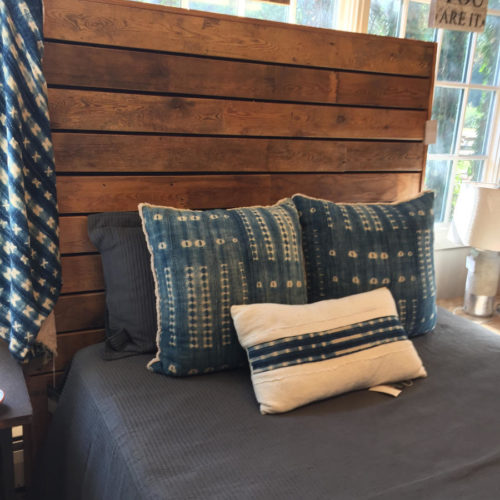 Barn Wood Queen Headboard