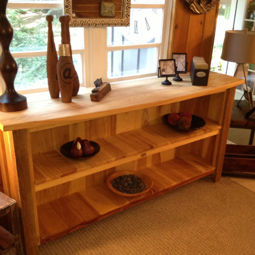 Buffet in Re-Purposed Elm