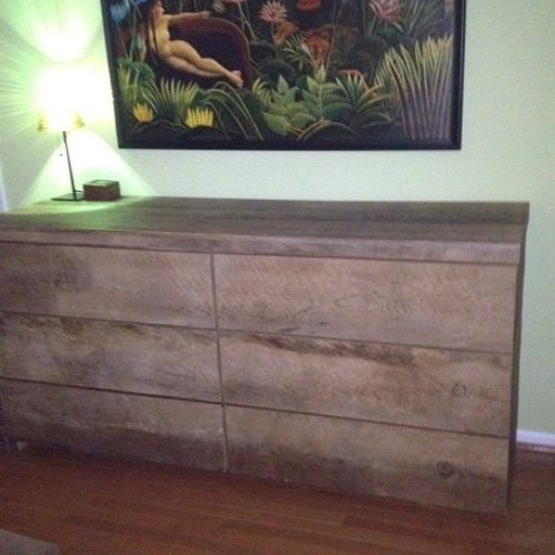Dresser in Antique Reclaimed Heart Pine