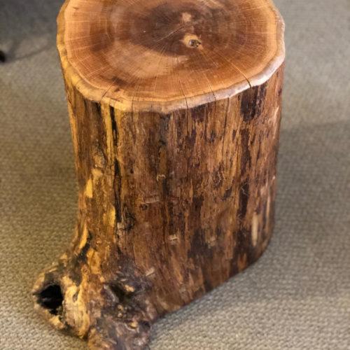 Oak Side Table Natural Form