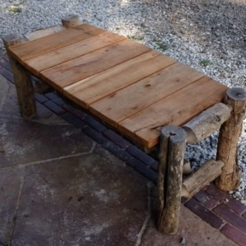 Outdoor Locust Bench