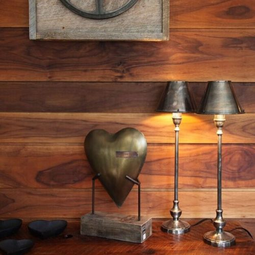 Re-Purposed Walnut Paneling