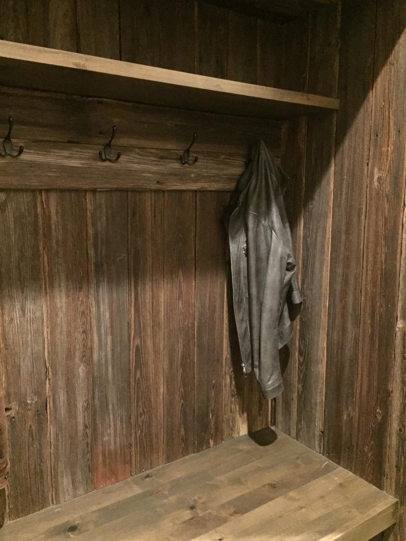 barn wood veneer paneling