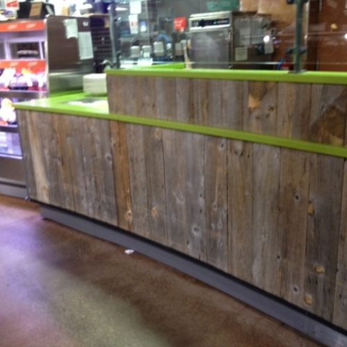 Reclaimed Barn Wood Paneling