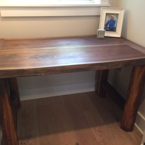 Reclaimed Walnut Desk