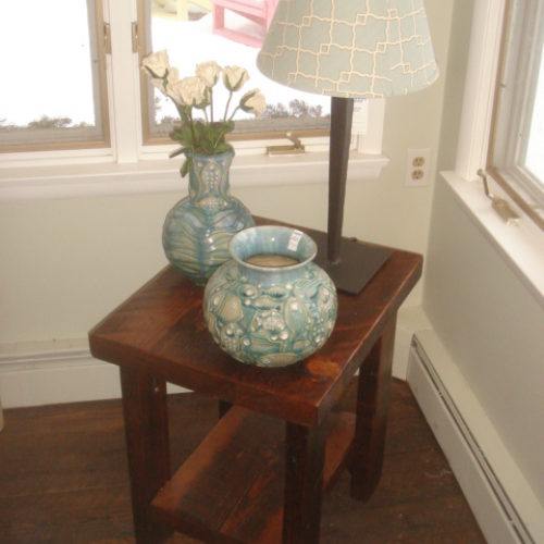 Side Table in Antique Reclaimed Pine
