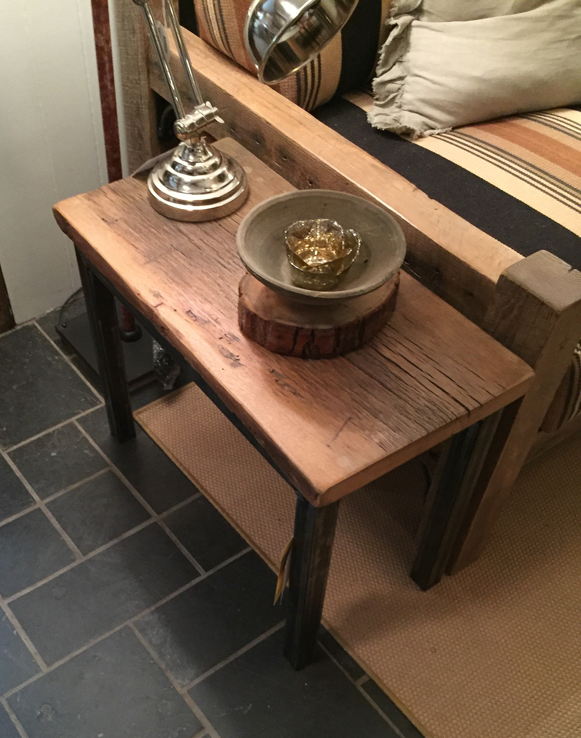 100 Reclaimed Oak Coffee Table Coffee Table With  : side table reclaimed oak and steel base from 45.32.79.15 size 1133 x 1440 jpeg 1106kB