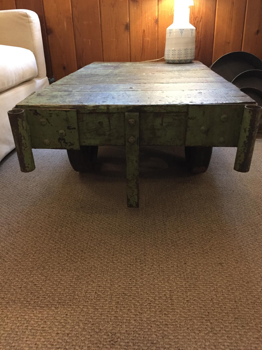 Vintage Refurbished Pallet Coffee Table Hearthwoods